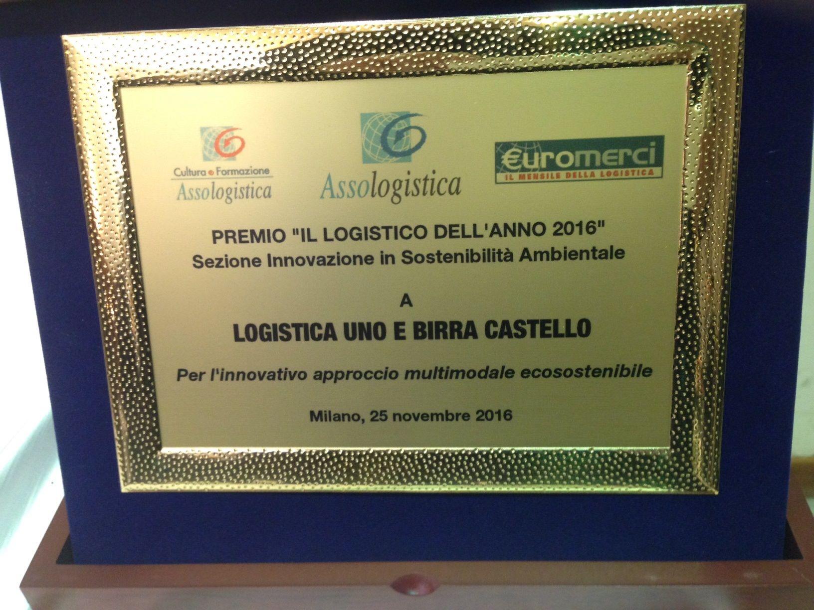 premio il logistico dell'anno 2016
