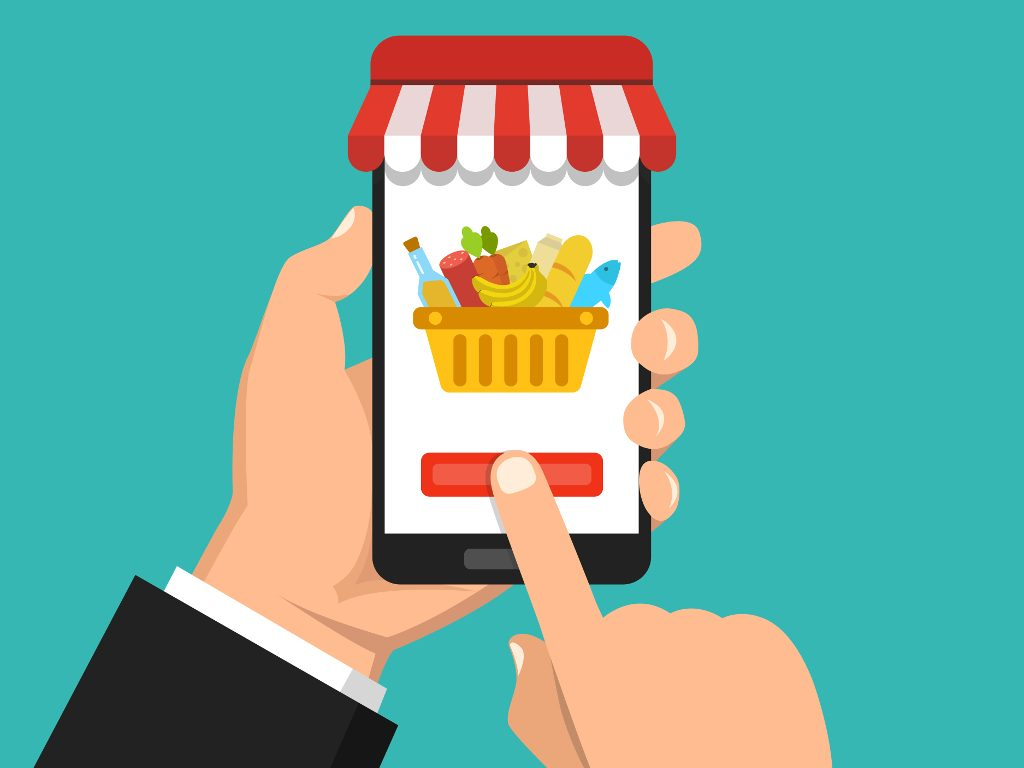 e-commerce food&grocery